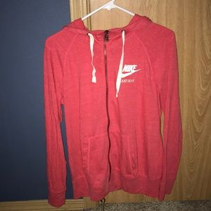 Women's Nike vintage zip up hoodie